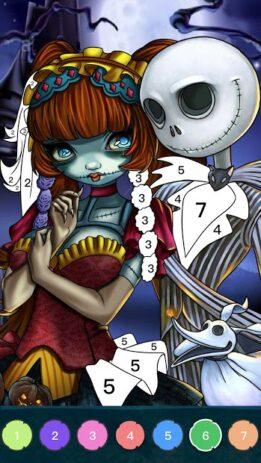 Скриншот Zombie Coloring 4