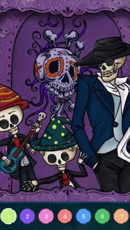 Скриншот Zombie Coloring 6