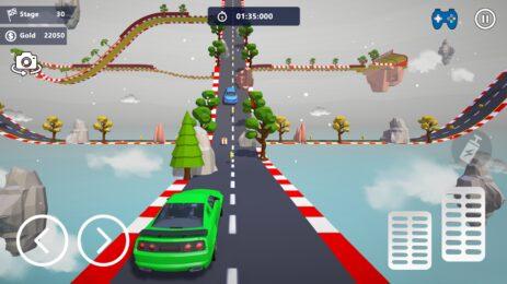Скриншот Car Stunts 3D Free