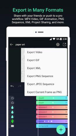 Скриншот Alight Motion 6