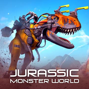 Cover art of «Jurassic Monster World: Dinosaur War 3D FPS» - icon