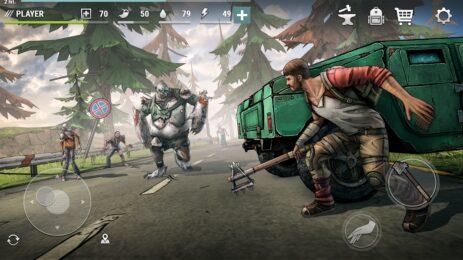 Скриншот Dark Days: Зомби выживание 0