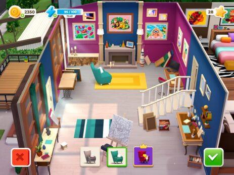 Скриншот Gallery: Раскраска по цифрам и декорирование дома 6