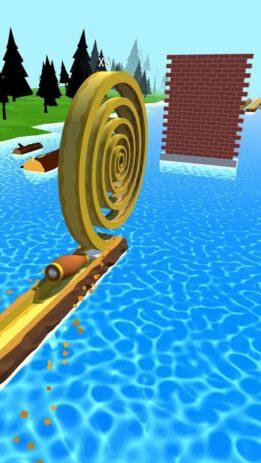 Скриншот Spiral Roll 1