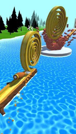 Скриншот Spiral Roll 3