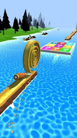 Скриншот Spiral Roll 6