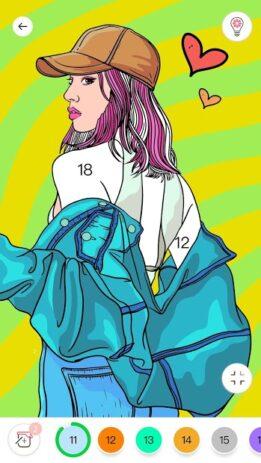 Скриншот Игра Color Color by Number для взрослых 4
