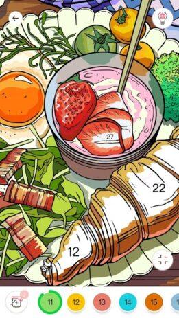 Скриншот Игра Color Color by Number для взрослых 5