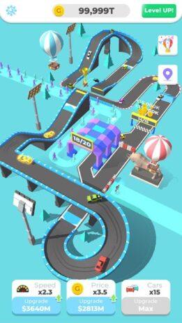 Скриншот Idle Racing Tycoon