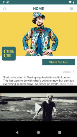Скриншот Boy George and Culture Club 0