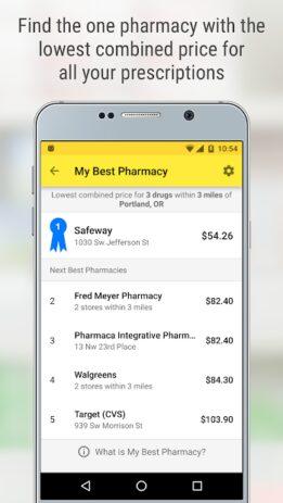 Скриншот GoodRx: Prescription Drugs Discounts & Coupons App 4