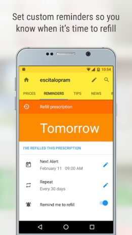 Скриншот GoodRx: Prescription Drugs Discounts & Coupons App 5