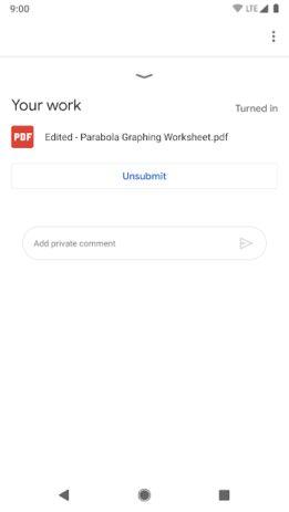 Скриншот Google Classroom