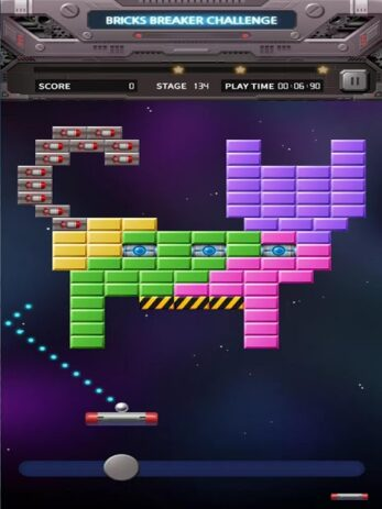 Скриншот Bricks Breaker Вызов 0