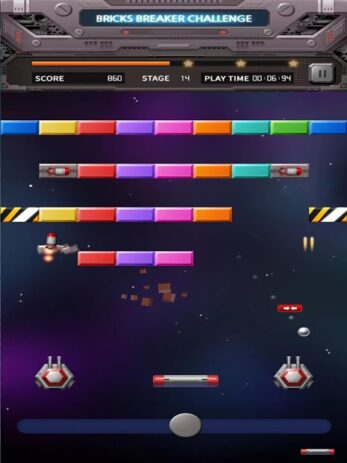 Скриншот Bricks Breaker Вызов 2