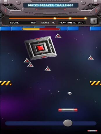 Скриншот Bricks Breaker Вызов 3