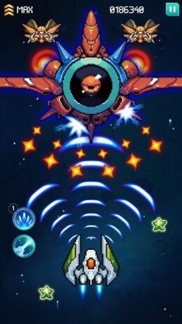 Скриншот Galaxiga