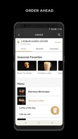 Скриншот Peet's Coffee 2