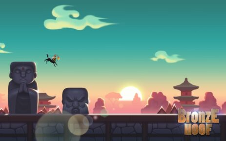Скриншот Bronze Hoof: хардкорная аркада 0