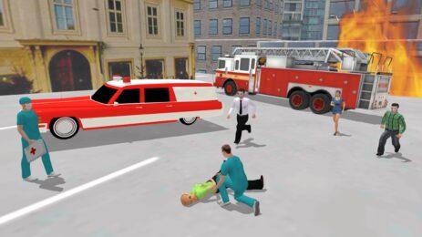 Скриншот скорой помощи симулятора