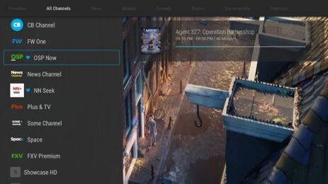 Скриншот ZalTV Player 1