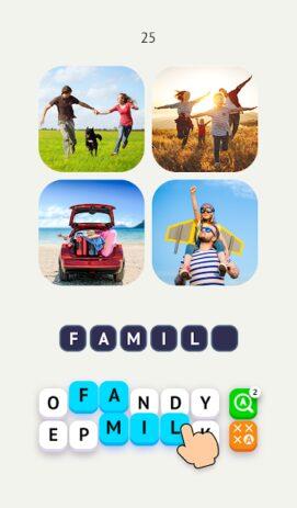 Скриншот Word Travel: Pics 4 Word