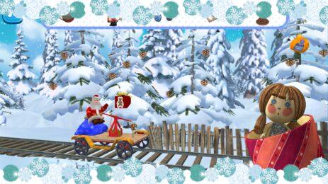 Скриншот Маша и Медведь: Новогодний супермаркет
