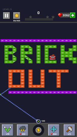 Скриншот Brick Out