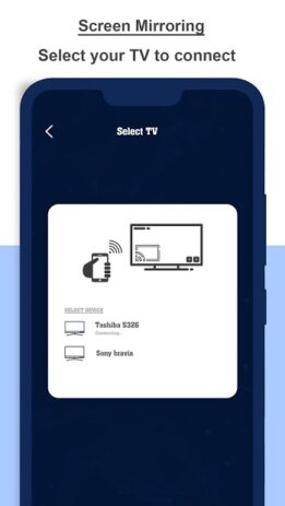 Скриншот Screen Mirroring For All TV : Mobile Screen To TV 1