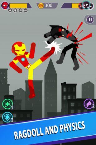 Скриншот Stickman Battle