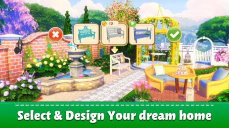 Скриншот Sweet Home: Design My Room