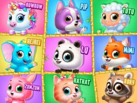 Скриншот Panda Lu Treehouse