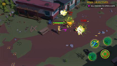 Скриншот Zombie Blast Crew 1