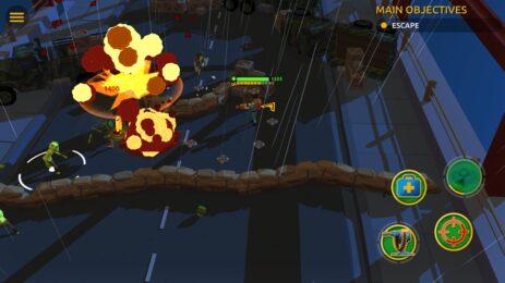 Скриншот Zombie Blast Crew 3