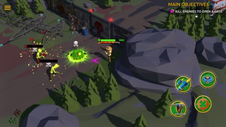 Скриншот Zombie Blast Crew 4