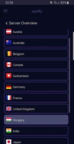 Скриншот Бесплатный VPN 1