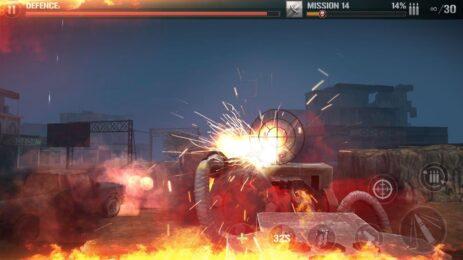 Скриншот стрелялки: окоченелый труп снайпер стрельба игры