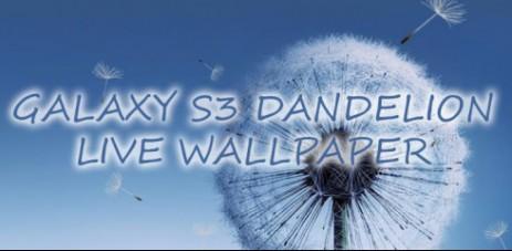 Galaxy S3 Dandelion LWP - thumbnail