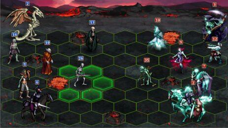 Скриншот Heroes & Magic 0