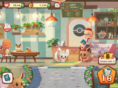 Скриншот Pokémon Café Mix