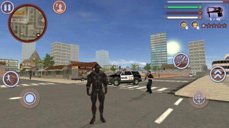 Скриншот Panther Vice Town Rope Hero