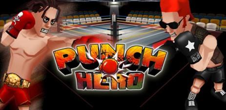 """Poster <span lang=""""ru"""">Punch Hero</span>"""