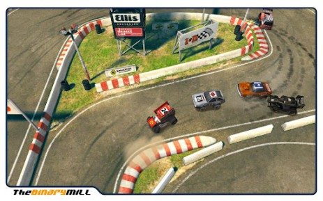Скриншот гонки