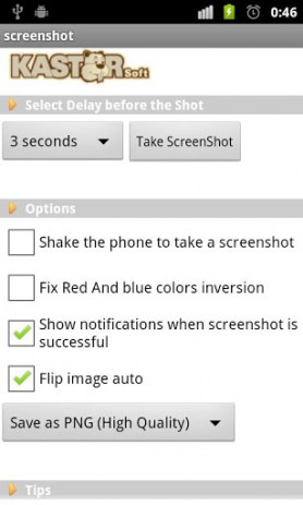 Screenshot – сриншот экрана | Android