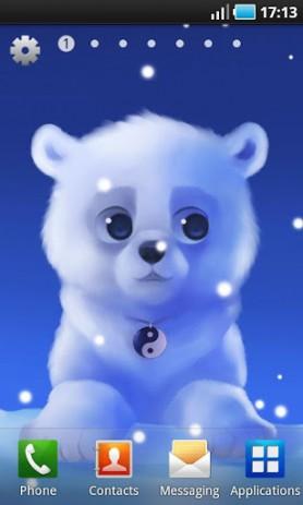 Polar Chub - белый медвежонок в вашем телефоне  | Android