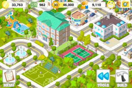 Скриншот построй город