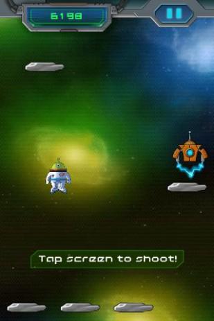 Скриншот Space Jump