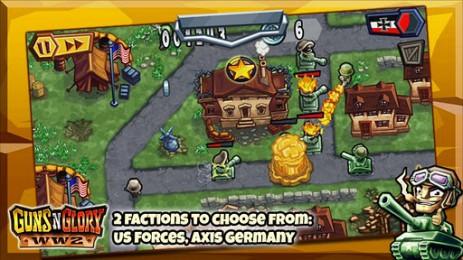 Guns'n'Glory WW2 - вторая мировая война | Android