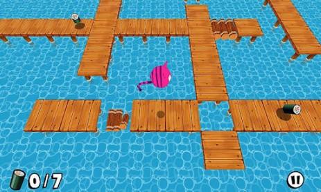Скриншот прыгающий кот