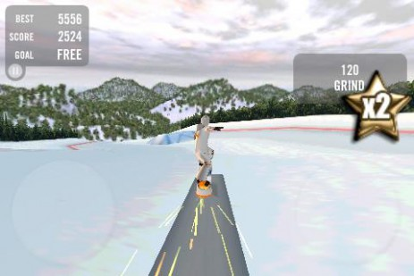Crazy Snowboard – сумасшедший сноуборд | Android